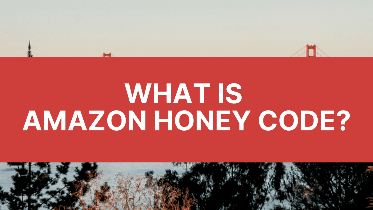 image with text of what is amazon honey code
